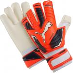 Goalkeeper's gloves Puma evoPOWER Grip 2 GC lava blast-total ecli