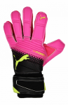 Brankářské rukavice Puma evoPOWER Grip 2.3 RC pink glo-safety yel – 1