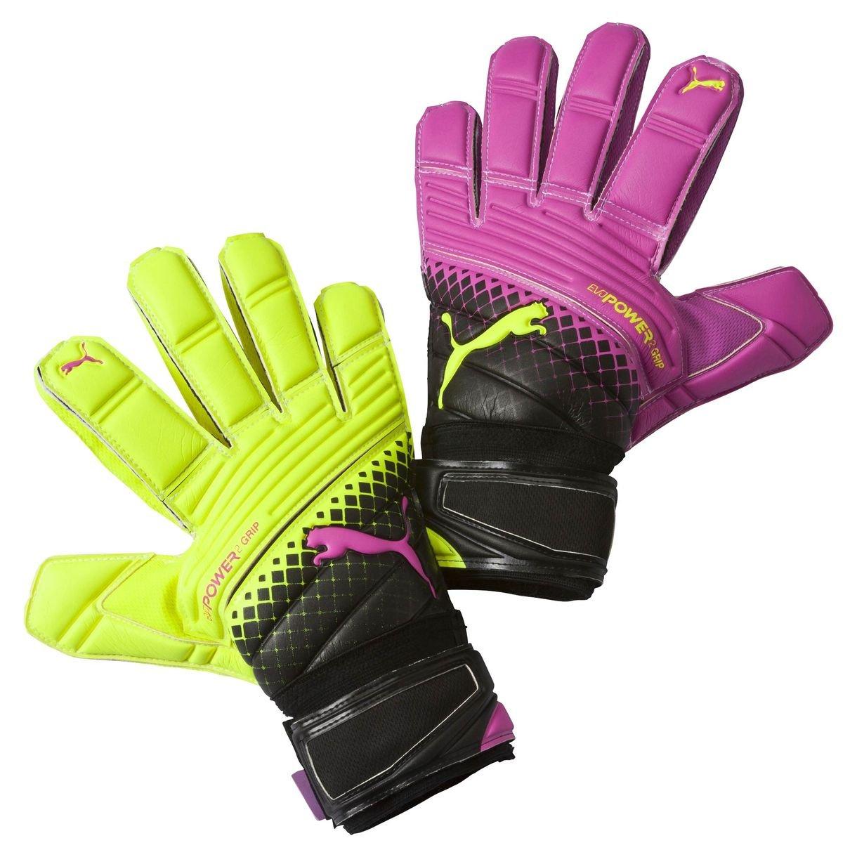 Brankářské rukavice Puma evoPOWER Grip 2.3 RC pink glo-safety yel
