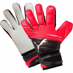 Goalkeeper's gloves Puma evoPOWER Grip 2.3 AQUA Black-Red Bl
