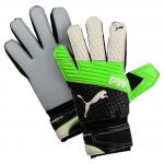 Brankářské rukavice Puma evoPOWER Grip 2.3 AQUA Green Gecko-