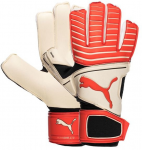 Brankářské rukavice Puma One Grip 17.2 RC White-Red Bla