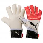 Brankářské rukavice Puma One Grip 17.2 GC White-Fiery C