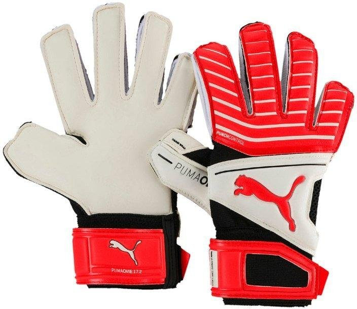 Goalkeeper's gloves Puma ONE Grip 17.2 rc tw- kids