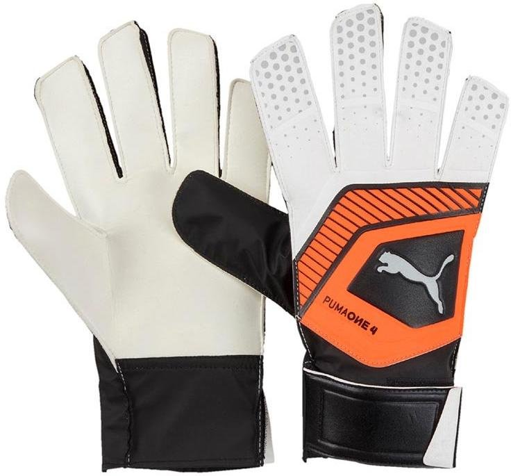 Goalkeeper's gloves Puma one grip 4