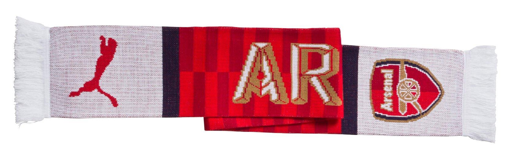 Šála Puma Arsenal Fan Scarf high risk red-estate b