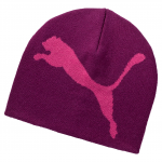 Čepice Puma ESS Big Cat Beanie Magenta Purple-Big Ca