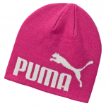 Čepice Puma ESS Big Cat Beanie Fuchsia Purple-NO 1