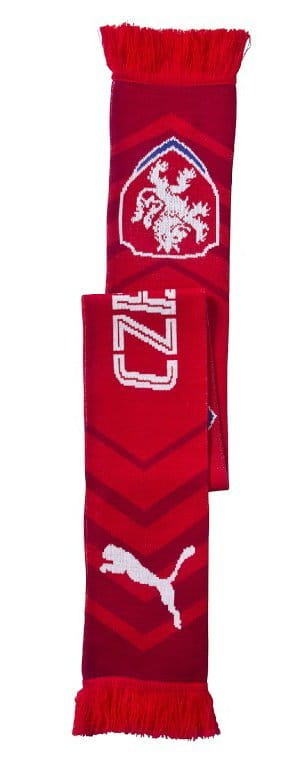 Šál Puma Czech Republic Fanscarf