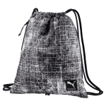 Academy Gym Sack Black- Wh