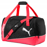 Taška Puma evoPOWER Medium Bag Fiery Coral- Bla