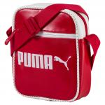 Taška Puma Campus Portable Barbados Cherry- Whi