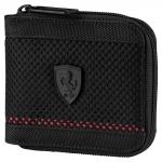 Peněženka Puma Ferrari LS Mesh Wallet M Black