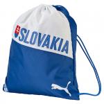 Vak na chrbát Puma Slovakia Fanwear Gym Sack Team