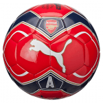 Arsenal Fan Ball High Risk Red- Whit