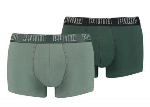 Puma Basic Trunk Boxer 2er Pack Grün F029 Boxeralsók