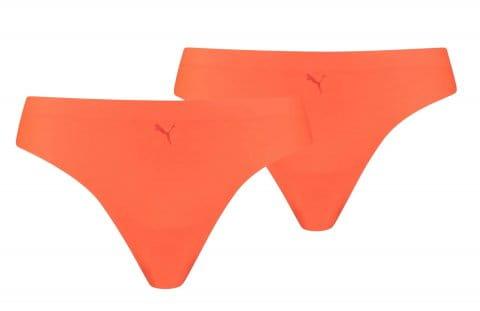 Lenjerie Puma String 2er Pack Damen Orange F006