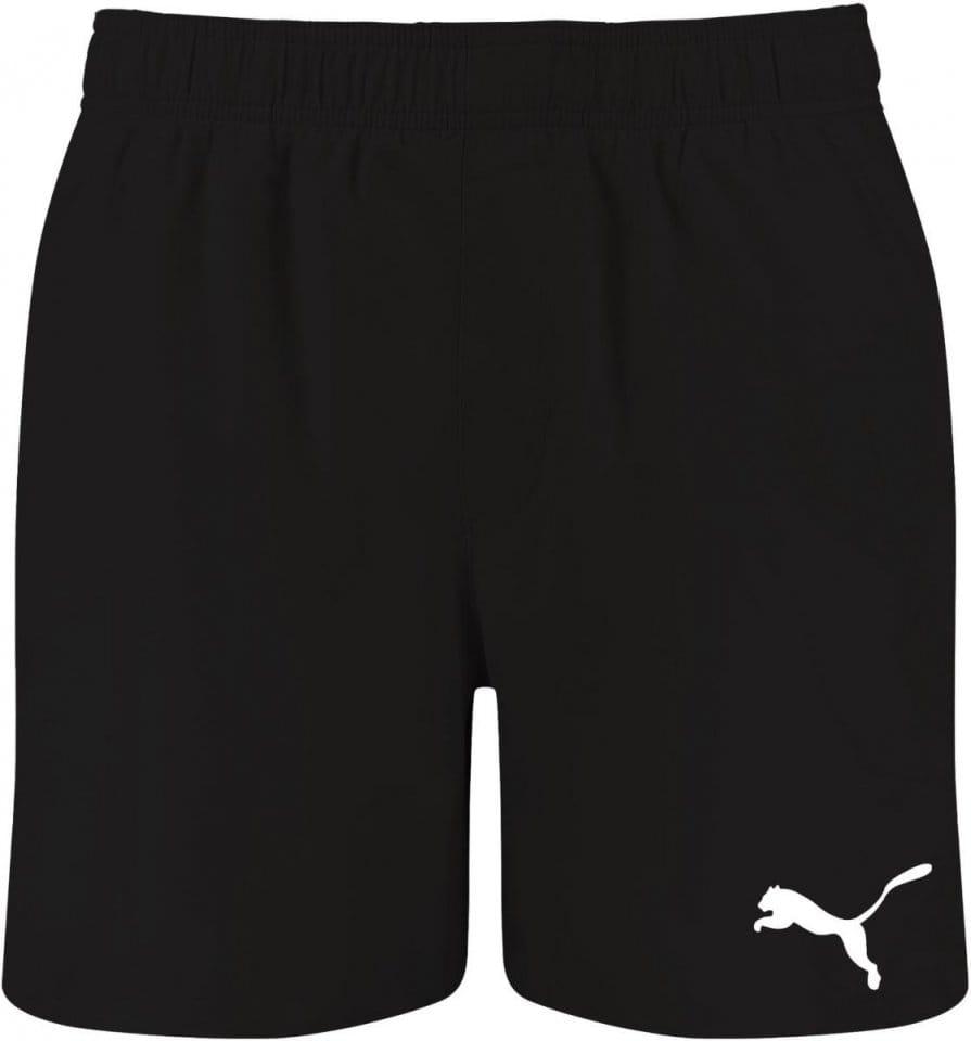Plavky Puma Mid Shorts Badehose Schwarz F200