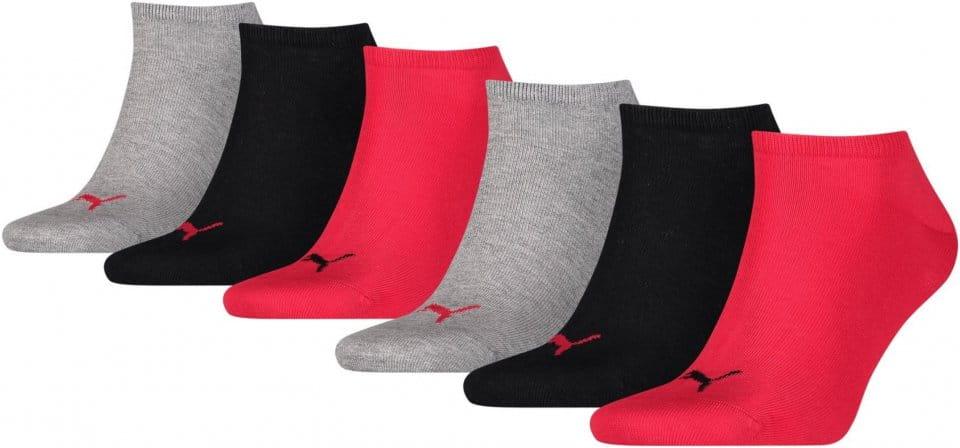 Kotníkové ponožky Puma Feet 6 Kusů