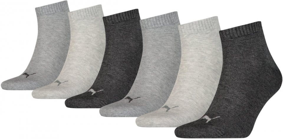 Calcetines Puma SCKS Quarter Plain 6 PACK
