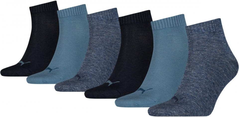 Socks Puma SCKS Quarter Plain 6 PACK