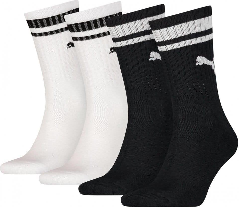 Ponožky Puma Crew Heritage Stripe 4 Kusy