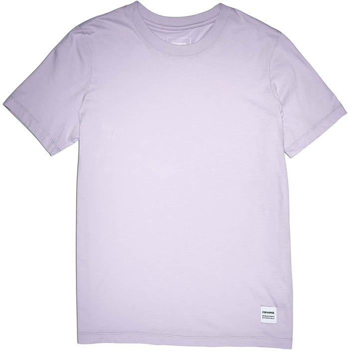 T-shirt Converse ti tee lila
