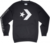 star chevron graphic crew sweat