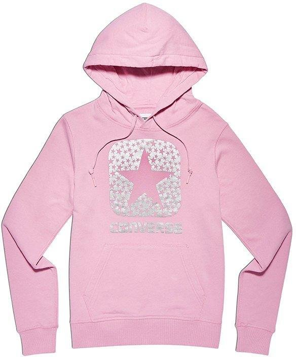 Mikina s kapucí Converse converse graphic boxstar sweatshirt hoody