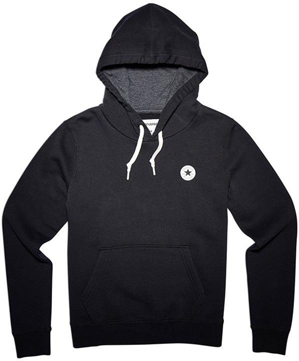 Mikina s kapucí Converse chuck patch graphic hoody