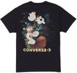 Converse basket floral tee Rövid ujjú póló