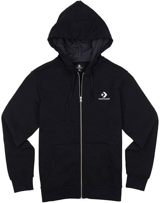 Hooded sweatshirt Converse star chevron fz