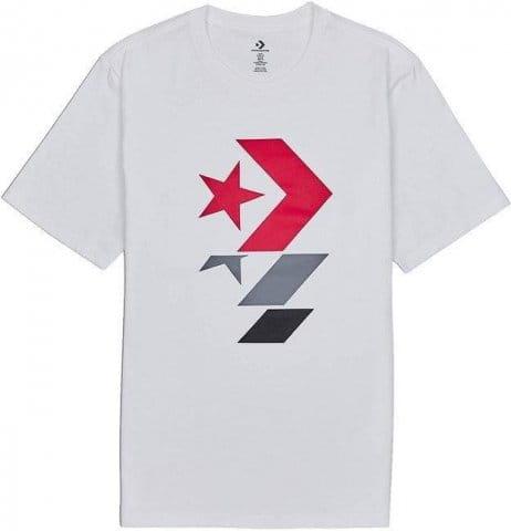 Tričko Converse converse star chevron crew sweatshirt