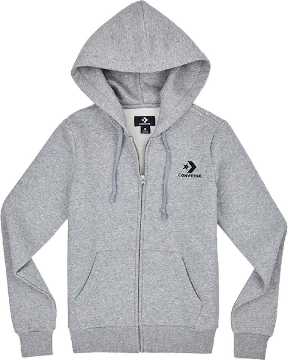 Mikina s kapucňou Converse Star chevron hoodie W