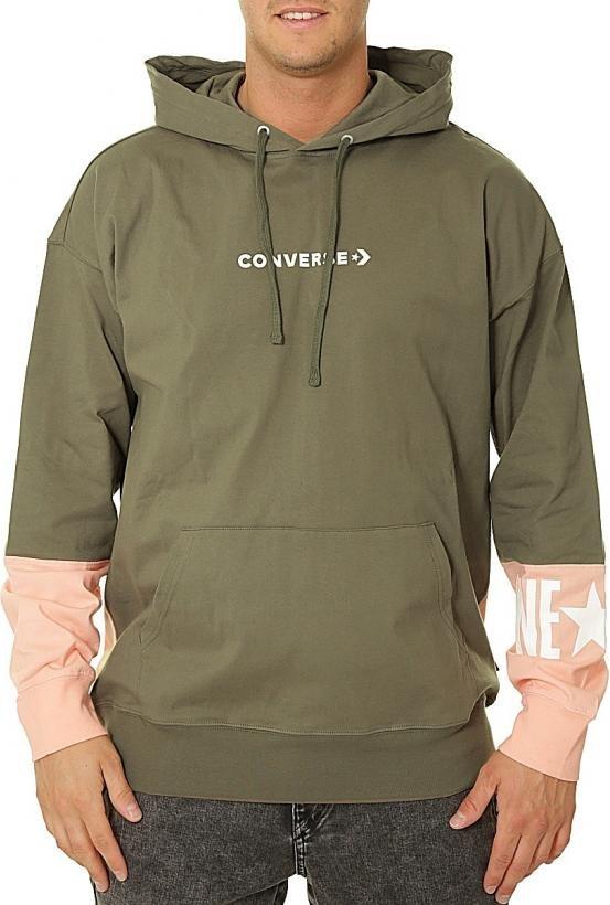 Hooded sweatshirt Converse converse one star lw po hoo field