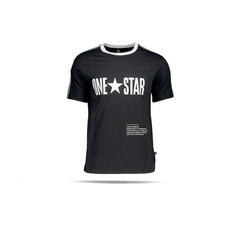 Triko Converse converse one star panel tee t-shirt