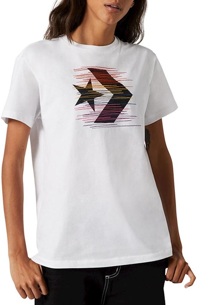 Tričko Converse converse rainbow thred icon remix t-shirt