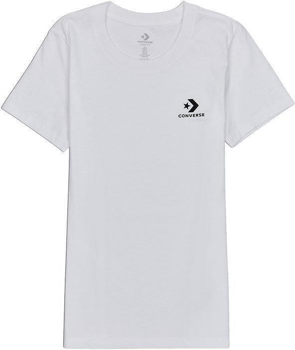 Triko Converse converse stacked logo tee t-shirt
