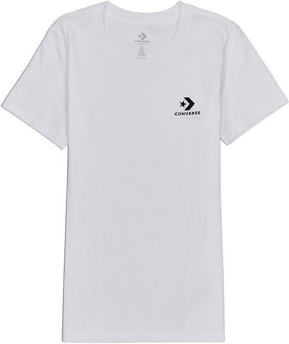 Converse converse stacked logo tee t-shirt Rövid ujjú póló