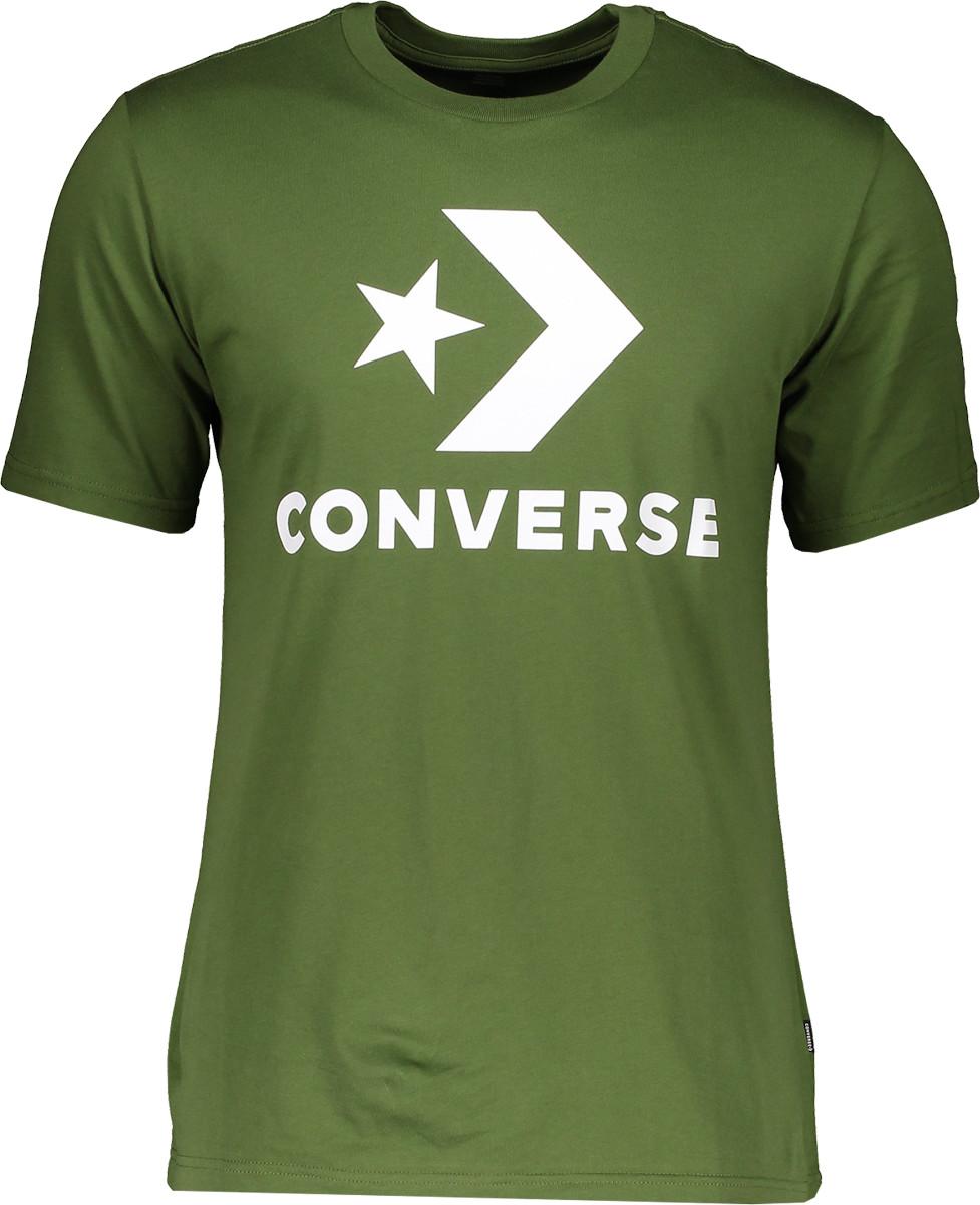 Pánské tričko s krátkým rukávem Converse Star Chevorn EMB