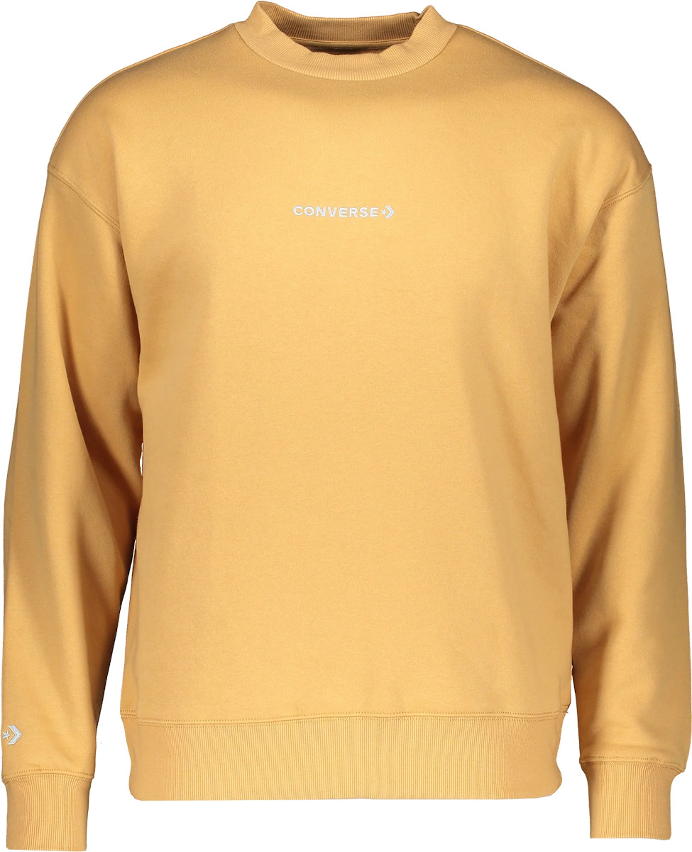 Sweatshirt Converse Mock Neck Crew Sweatshirt