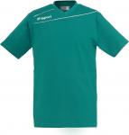 Tee-shirt Uhlsport uhlsport stream 3.0 cotton t-shirt turquoise