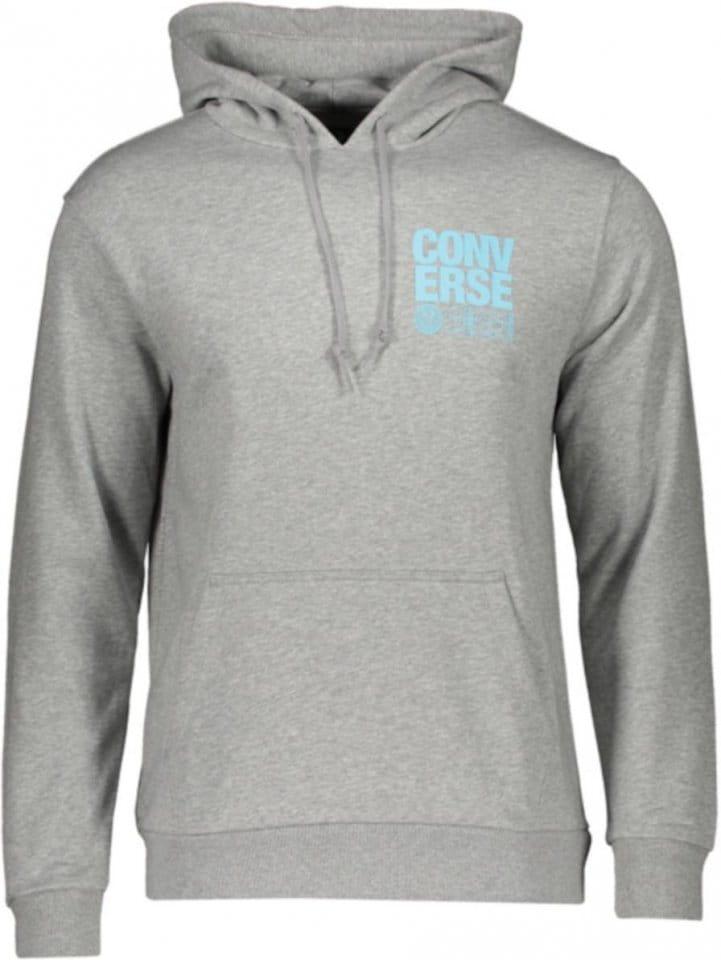 Sweatshirt met capuchon Converse Court Graphic Hoody