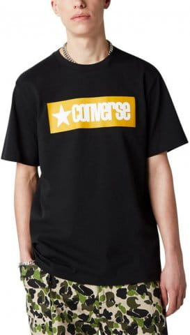 T-shirt Converse Converse Retro Box Wordmark TEE M