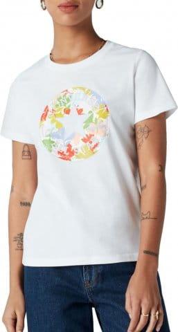 Converse Converse Flower Chuck Patch Damen T-Shirt F102 Rövid ujjú póló