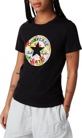 T-shirt Converse Converse Flower Chuck Patch Damen T-Shirt F001