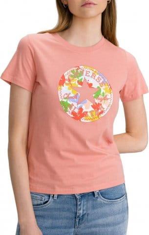 Camiseta Converse Converse Flower Chuck Patch Damen T-Shirt F651