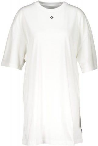 Dámské prodloužené tričko s krátkým rukávem Converse Wordmark F102