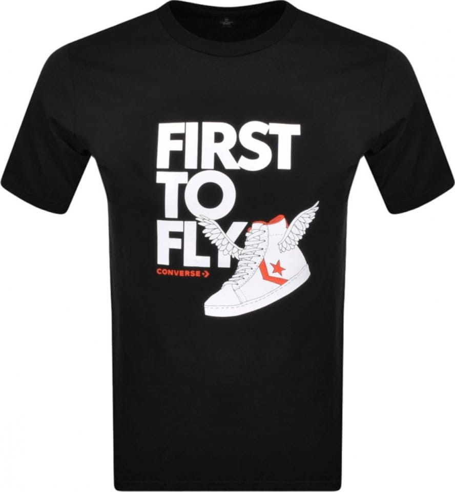 Majica Converse Converse First To Fly Back TEE M