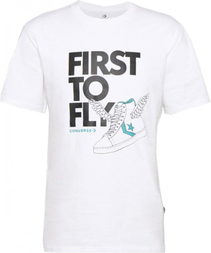 Pánské tričko s krátkým rukávem Converse First to Fly Back